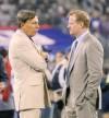 Kroenke Goodell St. Louis Rams at New York Giants