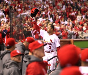 With a show of force, Cards tie series