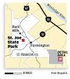St. Joe State Park near Doe Run map