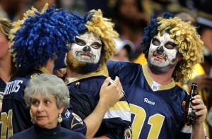 Being a Rams fan not for the faint of heart in recent years