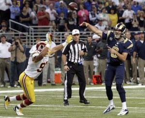 Rams hang on for 31-28 victory