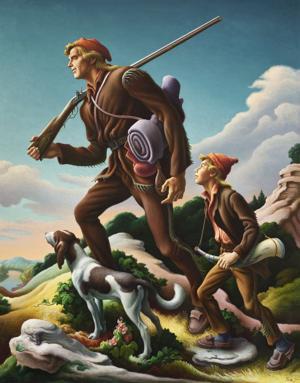 Exhibit highlights Benton's Hollywood art