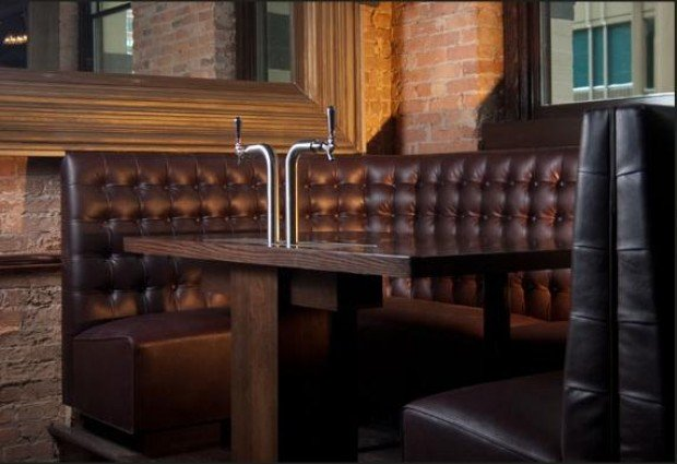 Ballwin restaurant first to offer tableside beer taps in for Table 99 restaurant