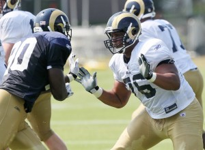Saffold is active; Garcon scratched