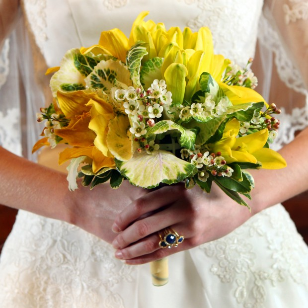 Bridal Bouquets With Cabbage Roses : Quirky bridal bouquets is that cabbage lifestyles