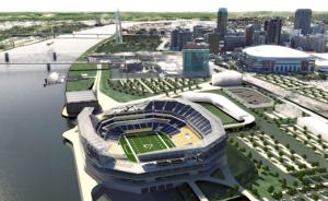 New renderings show proposed St. Louis riverfront NFL stadium