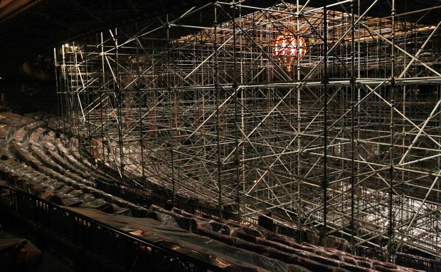 Fox Theatre Restoration Project Gives A View From The Top