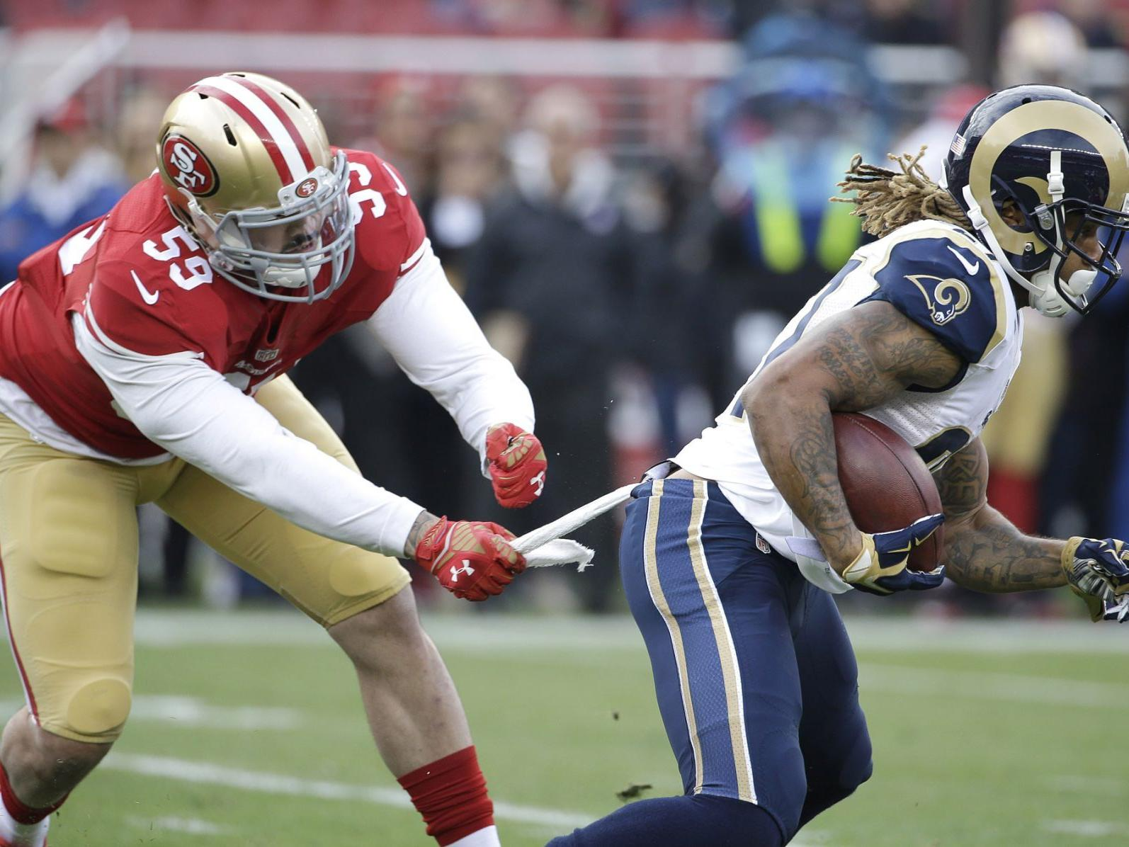 NFL notebook: 49ers LB Lynch suspended 4 games