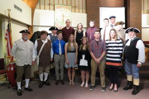 Eighteen students receive award from SAR