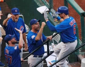 Photos: Cubs strike early to beat Cards