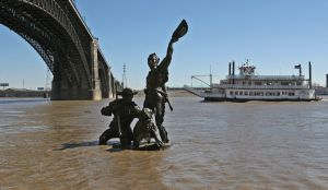 Lewis & Clark statue moving from riverfront Thursday morning