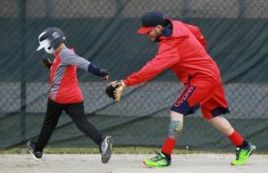 In his 12th season, Molina is 'still a kid' : Sports  Yadier Molina Son