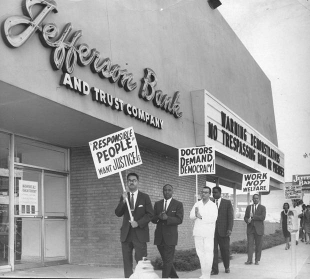 Look Back • Civil rights efforts in St. Louis build toward Jefferson Bank in 1963