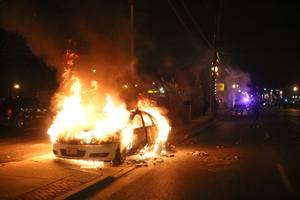 Video: Ferguson erupts in violence after no indictment