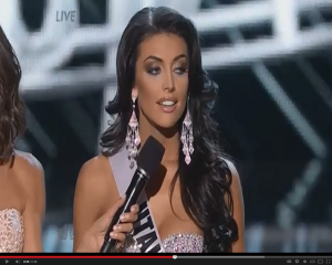 Miss Utah fumbles during pageant Q&A