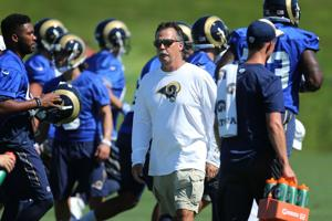 Bernie: Potential move is buzzkill at Rams camp