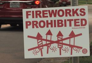 Watch: Fire officials advise caution when using fireworks