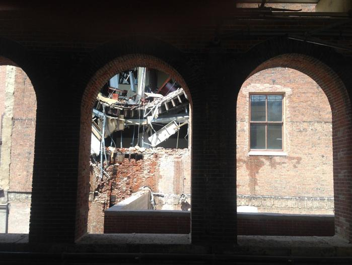 Building Collapse in The