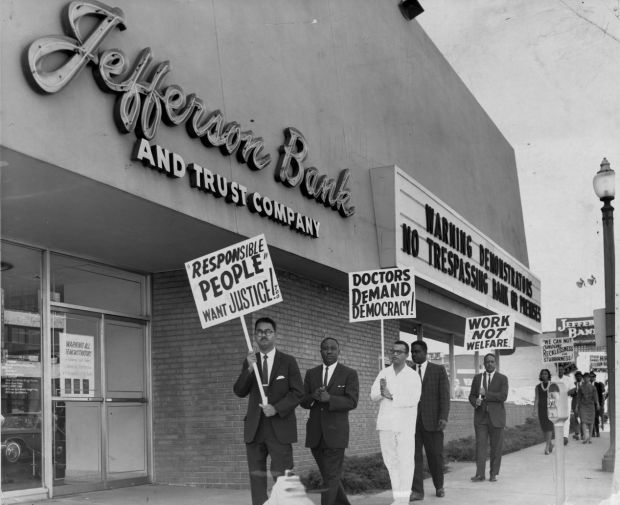 50 Years Later Jefferson Bank Protest Refuses To Fade Away News