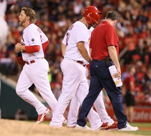 Cards' Adams expected to miss 3 to 4 months