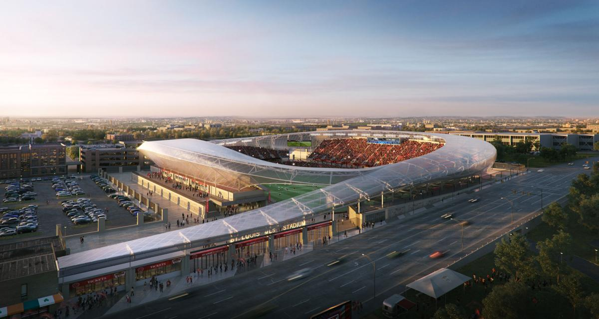 Downtown MLS stadium rendering