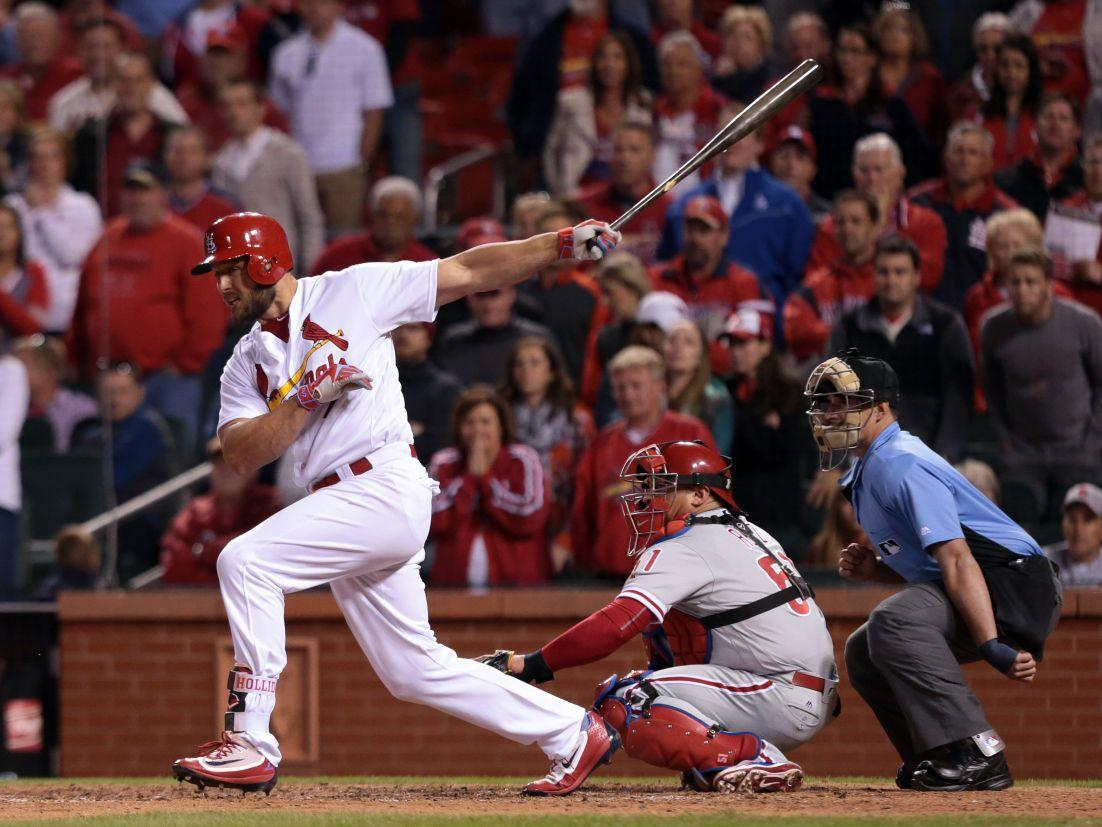 Holliday, Cards muscle up to finish sweep of Angels | St. Louis Cardinals | stltoday.com