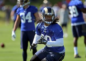 Gurley not just a spectator as Rams open camp