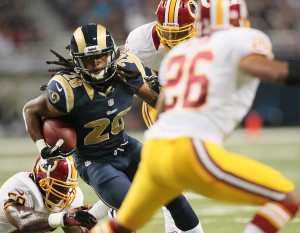 Richardson gives Rams change of pace