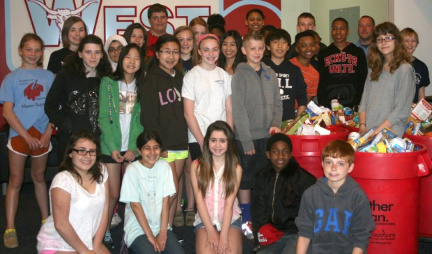Parkway West Middle collects food for needy   Metro St. Louis ...