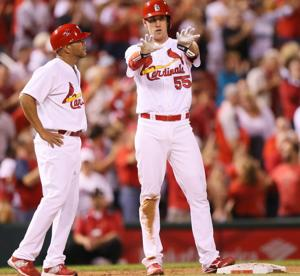 Cards give Miller a tidy going-away gift: a win