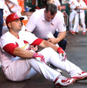 Holliday aims for quick healing