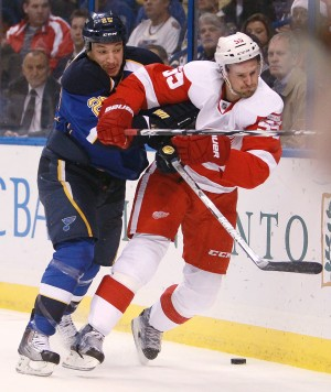 Stewart Hit on Kronwall