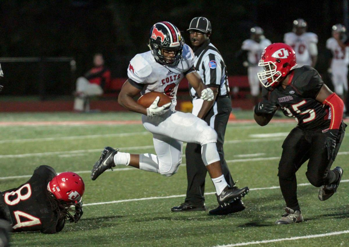 Parkway Central uses quick start to down Jennings Image