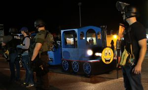 Day and night: A reporter's notebook from Ferguson