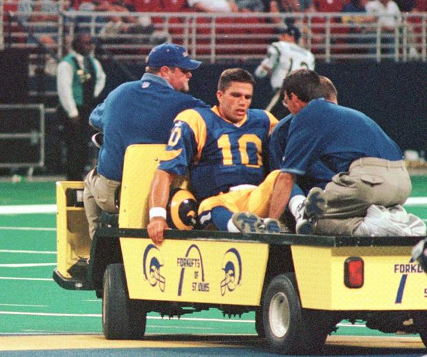 St Louis Rams Quarterback History Sports