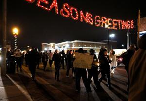Candlelight Vigil in Ferguson
