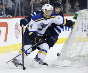Winnipeg is 'perfect challenge' for struggling Blues