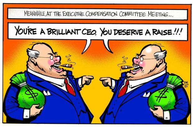 Editorial: Executive compensation, ever higher, ever less justifiable