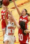 Webster Groves-Cor Jesu girls basketball