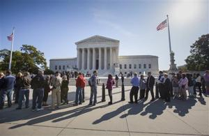 Q&A: What's at stake in Tuesday's Supreme Court gay marriage arguments