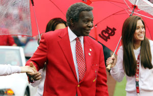 Lou Brock's message to his fans: 'It's great to be alive'