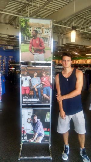 Former Hazelwood lacrosse star making model career work