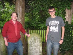 Spotlight: Chesterfield men gravitate to governors' graves