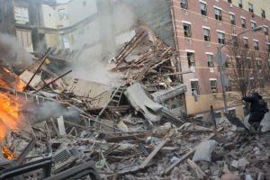 NYC building explodes in Harlem, killing two