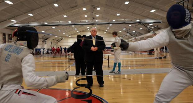 Fencers aim to qualify for Junior Olympics at Daugherty Cup