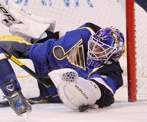 Comeback Kid: Blues' goalie Brian Elliott : Sports