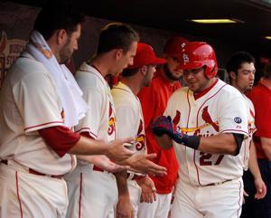 Game blog: Rockies rock Lynn, Cardinals