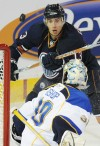 St Louis Blues goalie Ben Bishop