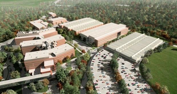 Facility Construction Missouri : Construction begins on big monsanto project business