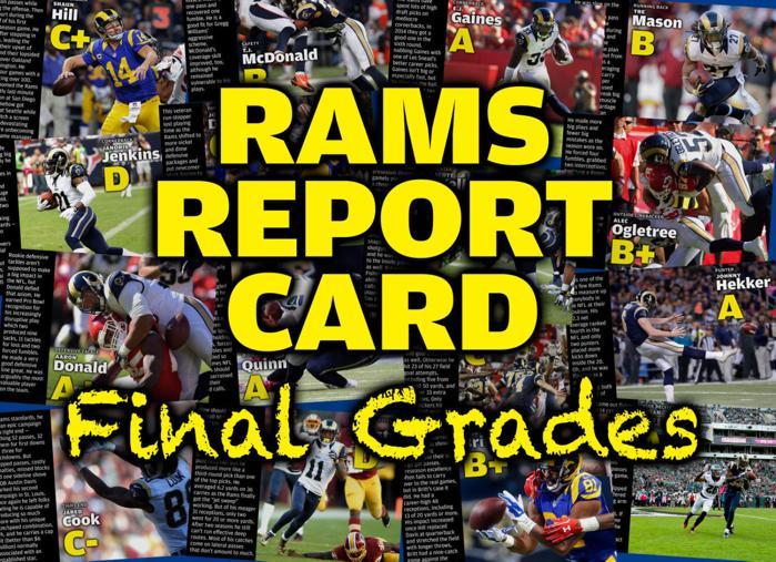 Rams Report Card Final Grades Gallery